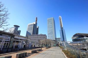 さいたま新都心駅の東西自由通路の写真素材 [FYI01750119]