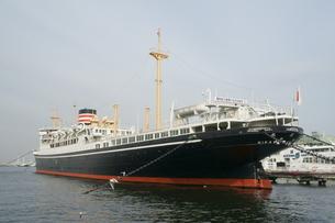 横浜 氷川丸の写真素材 [FYI01750183]