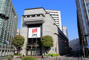 東京証券取引所の写真素材 [FYI01750213]
