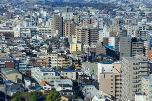 都市風景 密集した建物の写真素材 [FYI01750334]