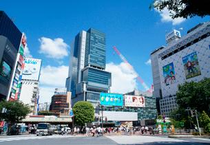 渋谷駅前の風景の写真素材 [FYI01750345]