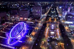 名古屋夜景の写真素材 [FYI01750365]