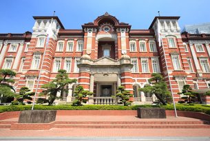 東京駅丸の内駅舎の写真素材 [FYI01750392]