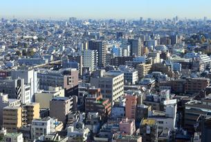 都市風景 密集した建物の写真素材 [FYI01750459]