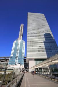 NTTドコモさいたまビルと明治安田生命ランドアクシスタワーの写真素材 [FYI01750474]