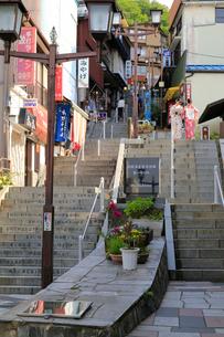 伊香保温泉石段街の写真素材 [FYI01750475]
