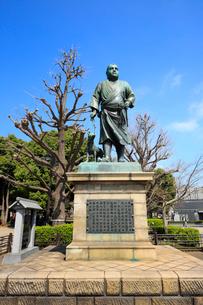 上野公園 西郷隆盛像の写真素材 [FYI01750635]