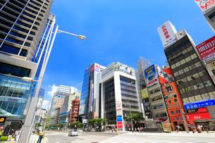 東京駅八重洲口付近の風景の写真素材 [FYI01750681]