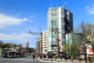 原宿駅前の写真素材 [FYI01750684]