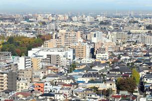 都市風景 密集した建物の写真素材 [FYI01750698]