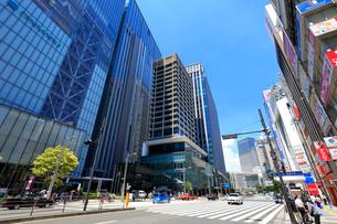 東京駅八重洲口付近の風景の写真素材 [FYI01750746]