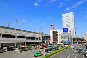 王子駅前の風景の写真素材 [FYI01750791]