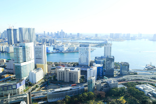 東京湾岸エリアの写真素材 [FYI01750834]