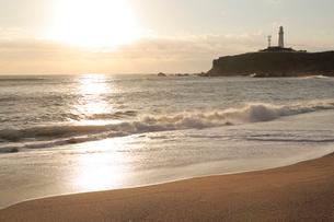 犬吠埼の日の出の写真素材 [FYI01750883]