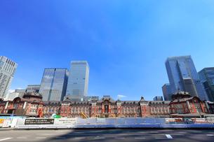 東京駅丸の内駅舎の写真素材 [FYI01750922]