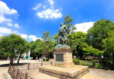 上野 西郷隆盛像の写真素材 [FYI01751006]