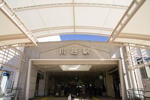 川越駅の写真素材 [FYI01751084]