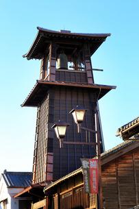 川越 時の鐘の写真素材 [FYI01751147]