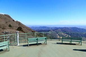 筑波山 コマ展望台の写真素材 [FYI01751184]