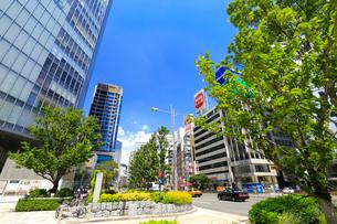 東京駅八重洲口付近の風景の写真素材 [FYI01751238]