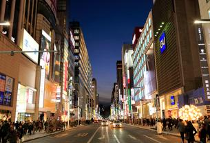 東京夜景 銀座の写真素材 [FYI01751303]