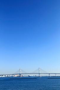 横浜ベイブリッジの写真素材 [FYI01751467]