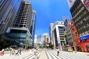 東京駅八重洲口付近の風景の写真素材 [FYI01751496]