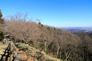 高尾山頂からの眺めの写真素材 [FYI01751529]