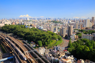 東京 都市風景の写真素材 [FYI01751563]