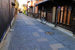 川越 石畳の街並みの写真素材 [FYI01751715]