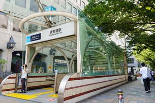 表参道駅の写真素材 [FYI01751764]
