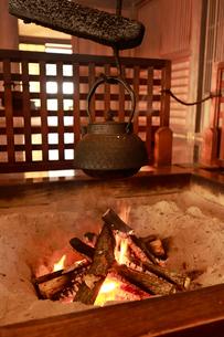 囲炉裏の写真素材 [FYI01751788]
