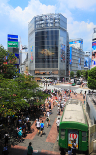 渋谷の街並みの写真素材 [FYI01752034]