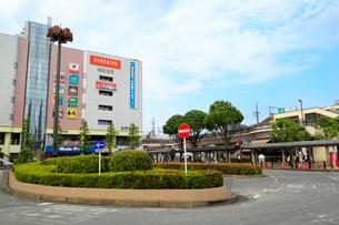 久喜駅前の風景の写真素材 [FYI01752182]