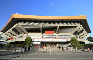 日本武道館の写真素材 [FYI01752230]