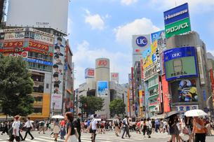 渋谷の街並みの写真素材 [FYI01752357]