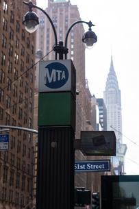アメリカ ニューヨーク マンハッタンの写真素材 [FYI01752477]