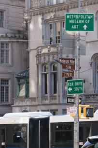アメリカ ニューヨーク マンハッタンの街並の写真素材 [FYI01752666]