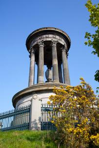 カールトン・ヒルのデュガルド・スチュアート記念碑の写真素材 [FYI01752675]