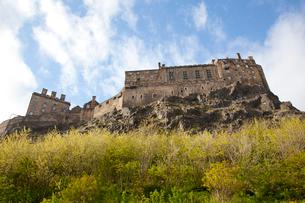 エディンバラ城の南西側の写真素材 [FYI01752967]