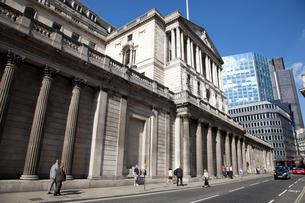 シティーのイングランド銀行の写真素材 [FYI01752973]