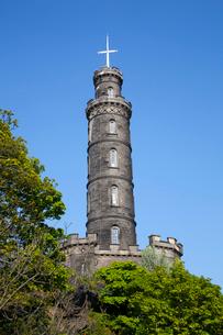 カールトン・ヒルのネルソン記念塔の写真素材 [FYI01753325]