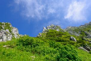 木曽駒ヶ岳 千畳敷カールの写真素材 [FYI01753338]