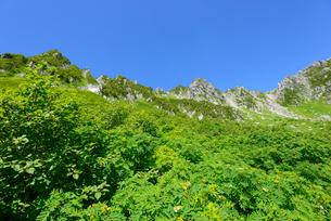 木曽駒ヶ岳 千畳敷カールの写真素材 [FYI01753518]