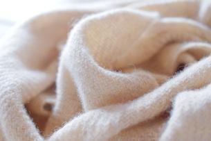 ウールの手織り布の写真素材 [FYI01753931]