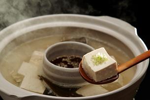 湯豆腐の写真素材 [FYI01754279]