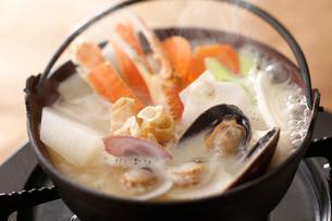海鮮鍋の写真素材 [FYI01754579]