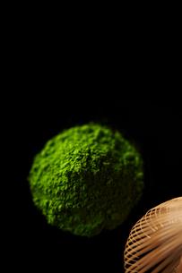 抹茶と茶筅の写真素材 [FYI01755048]