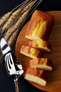 パウンドケーキの写真素材 [FYI01755188]