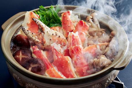 タラバ蟹鍋の写真素材 [FYI01755224]